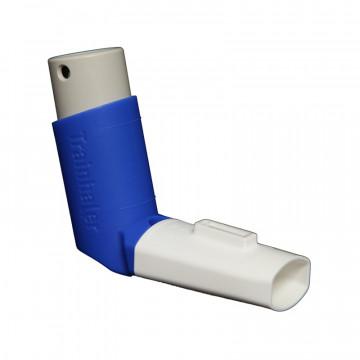 TRAINHALER, éduquer le patient à la prise d'aérosol (boite de 1 Trainhaler et 8 sifflets)