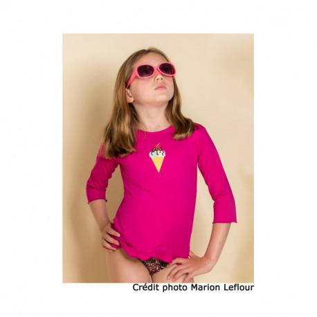 Tee-shirt anti-UV « Confetti » – 6 ans – LES ULTRAVIOLETTES