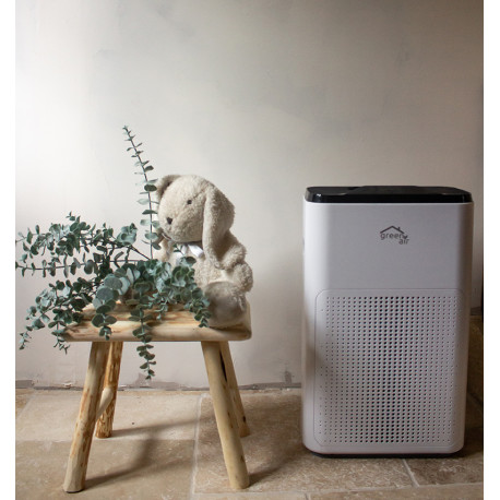 Purificateur d'air Green Essentiel, compact et silencieux